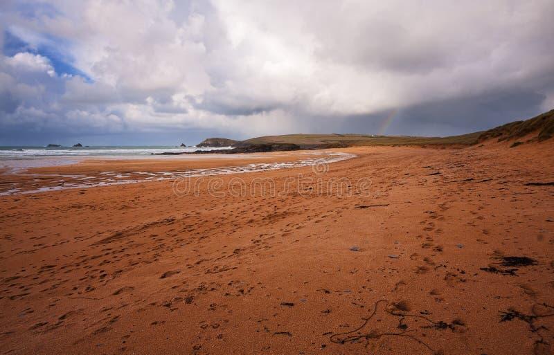 Cornish пляж стоковые изображения