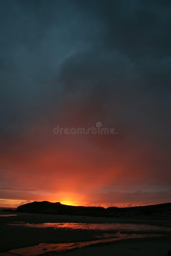 Cornish Beach stock photo