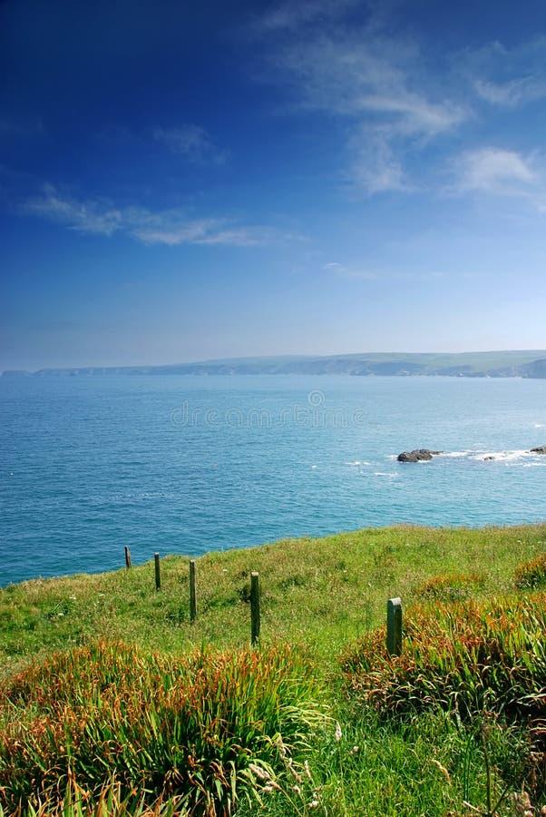 Cornish coast stock images