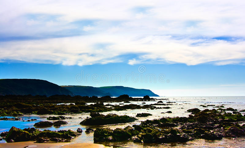 Download Coastal scenery stock photo. Image of shoreline, clouds - 26756724