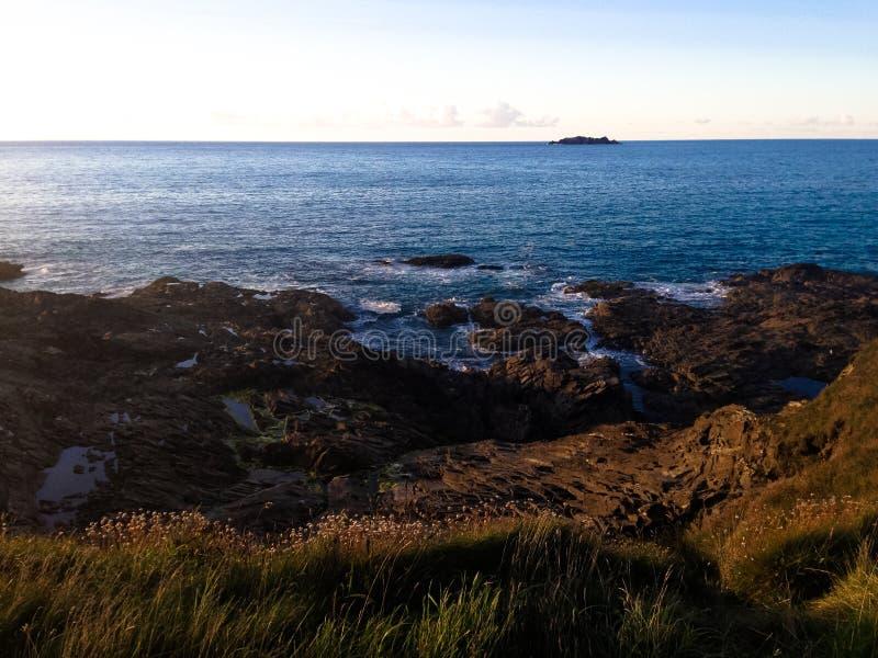 Cornish coast. royalty free stock images