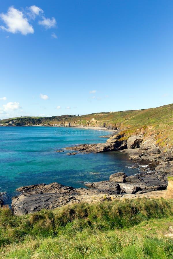 Download Cornish Coast Kenneggy Sand Cornwall England Near Praa Stock Image - Image: 34925647