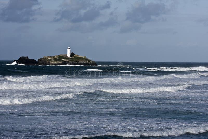 Cornish Coastline royalty free stock photo