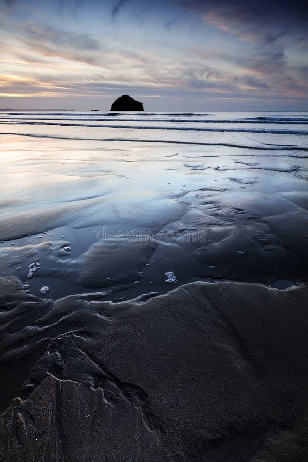 cornish kust arkivfoton