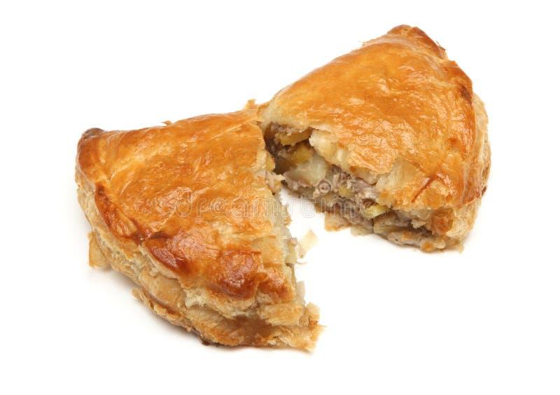 Cornish Pastie ή Pastie στοκ εικόνες με δικαίωμα ελεύθερης χρήσης