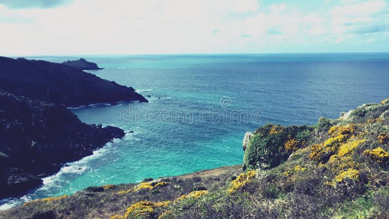 Cornish View royalty free stock image
