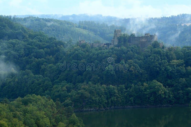 Cornstejn castle royaltyfri foto