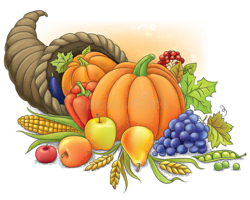 Cornucopia libre illustration