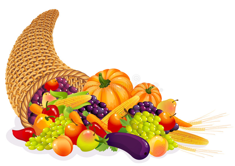 Download Cornucopia stock vector. Image of healthy, eating, cornucopia - 6673927