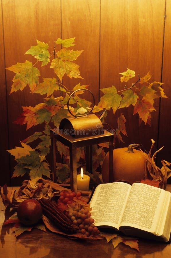 Cornucopia santamente do outono foto de stock royalty free