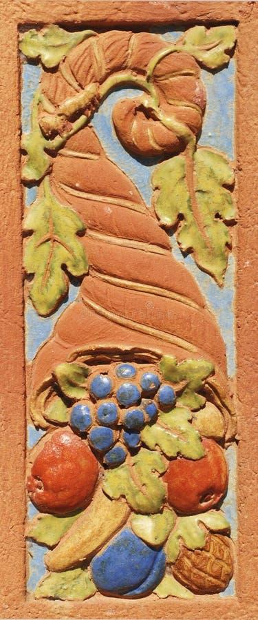 Download Cornucopia Tile Design stock photo. Image of picture, decorative - 5816472