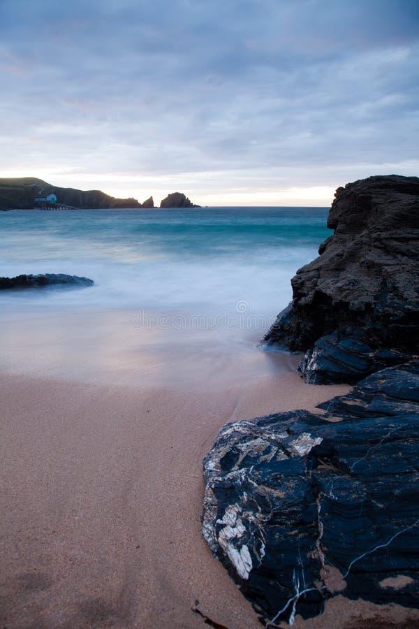 Cornwall海岸 免版税库存照片