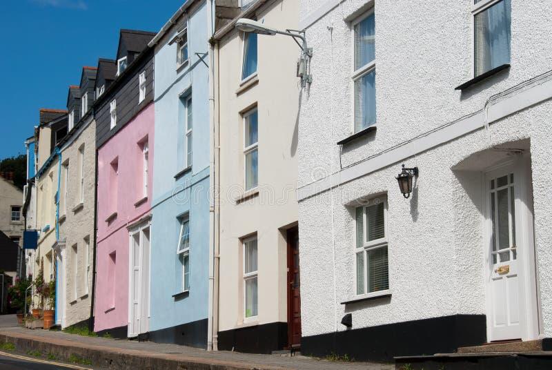 Download Cornwall domy obraz stock. Obraz złożonej z wielki, ciężki - 24329203