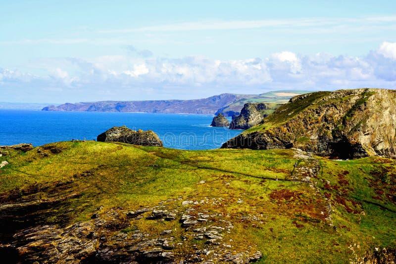 Cornwall kust stock afbeeldingen