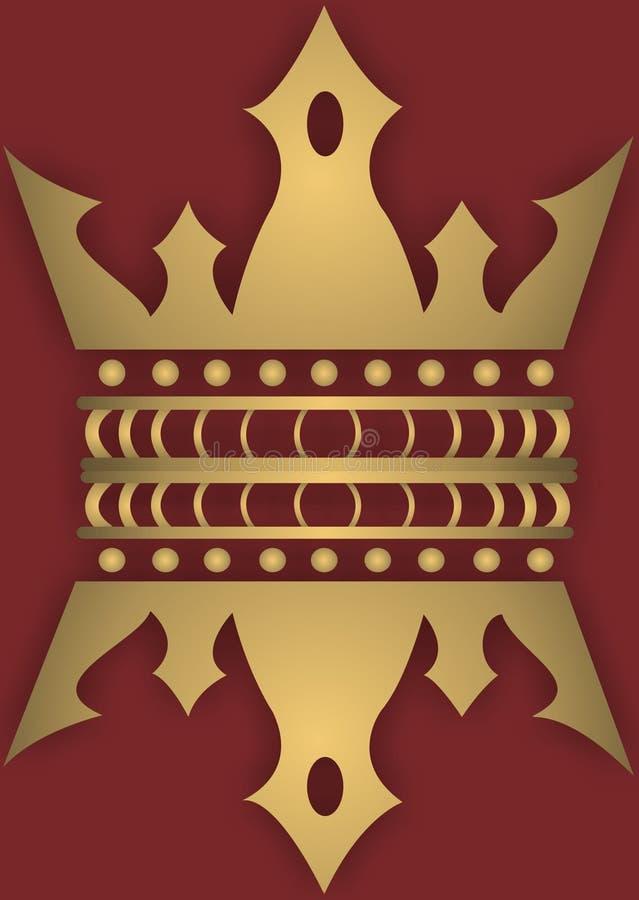 Coroa ilustração stock