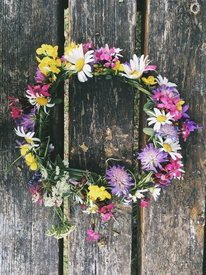 Coroa da flor fotografia de stock