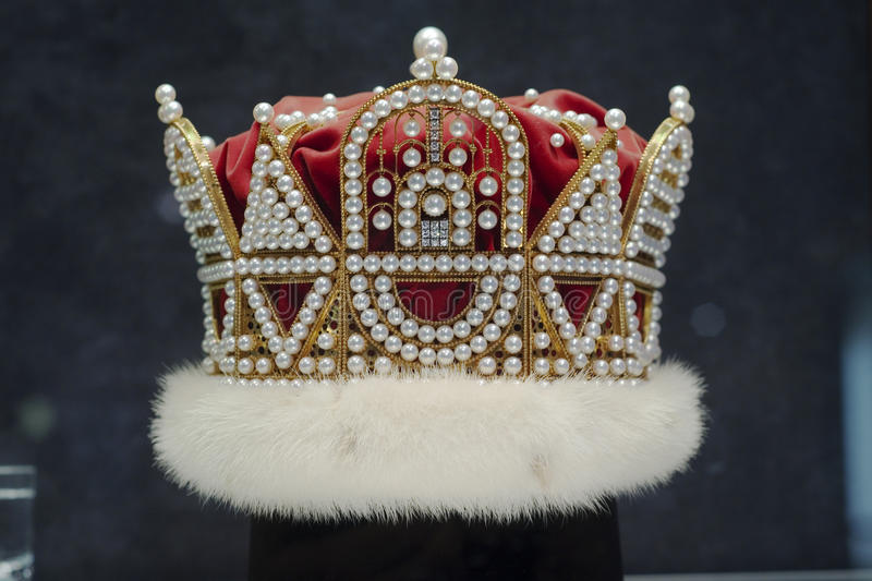 Coroa da pérola fotos de stock royalty free