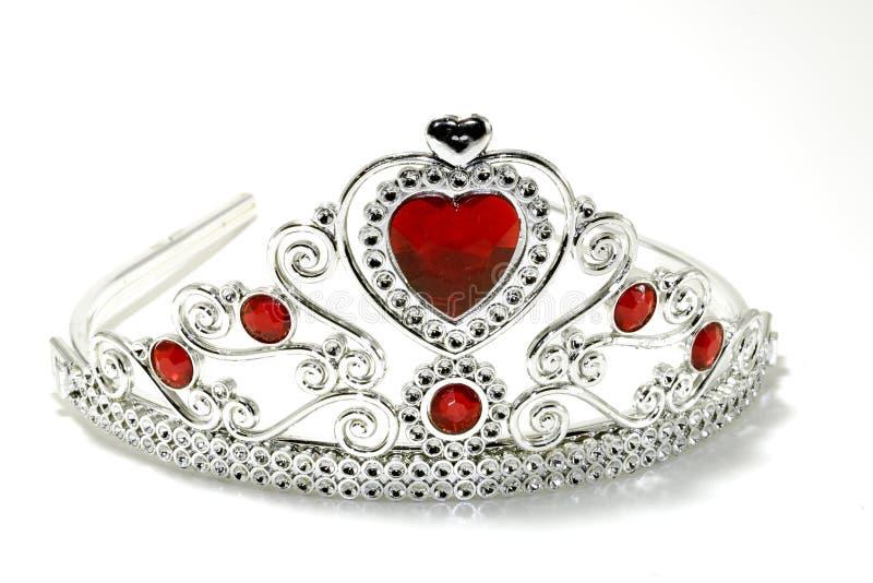 Coroa da tiara imagens de stock