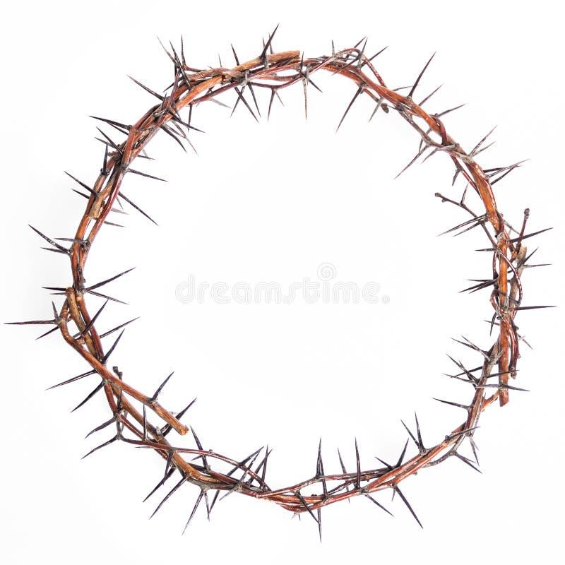 Coroa de espinhos Jesus Christ imagem de stock