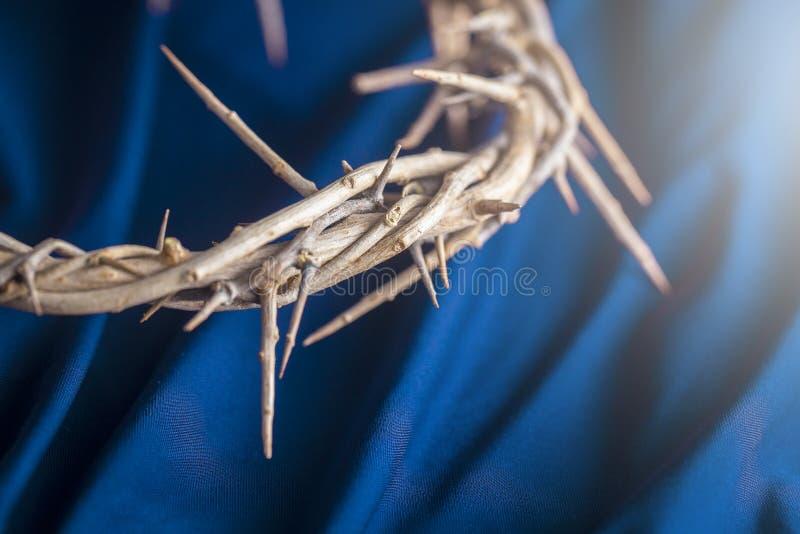 A coroa de espinhos que Jesus Wore fotografia de stock royalty free