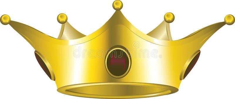 Coroa do ouro fotos de stock