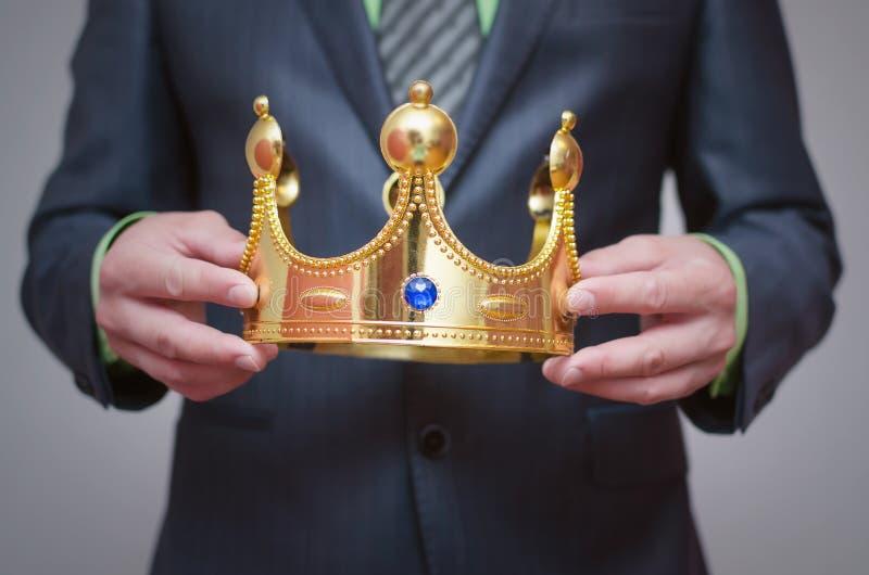 Coroa do ouro coronation foto de stock royalty free