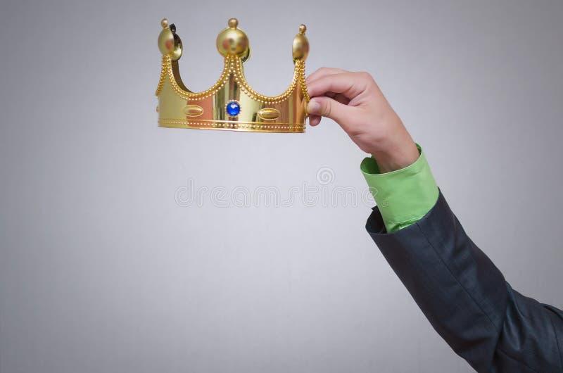 Coroa do ouro coronation imagens de stock