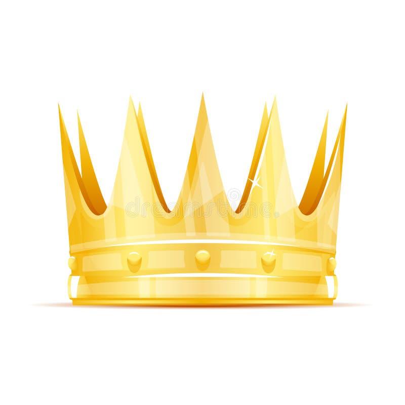 Coroa do rei ilustração stock