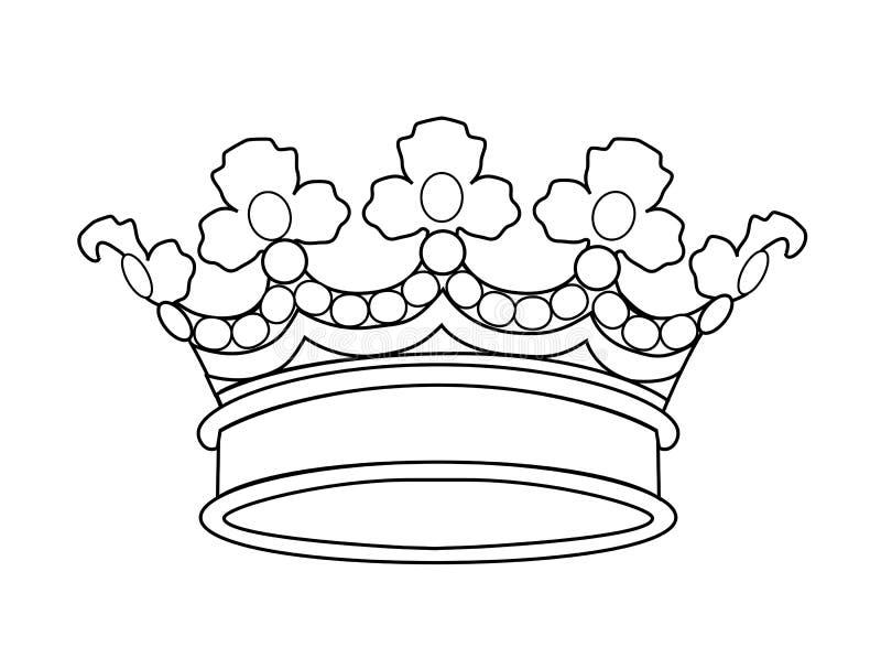 Coroa do vetor ilustração do vetor