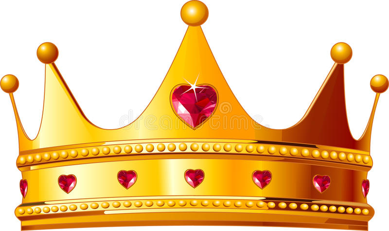 Coroa dos reis ilustração do vetor