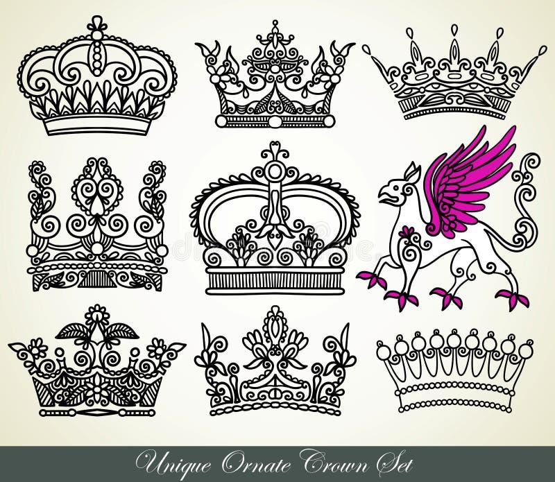 Coroa heráldica ilustração royalty free