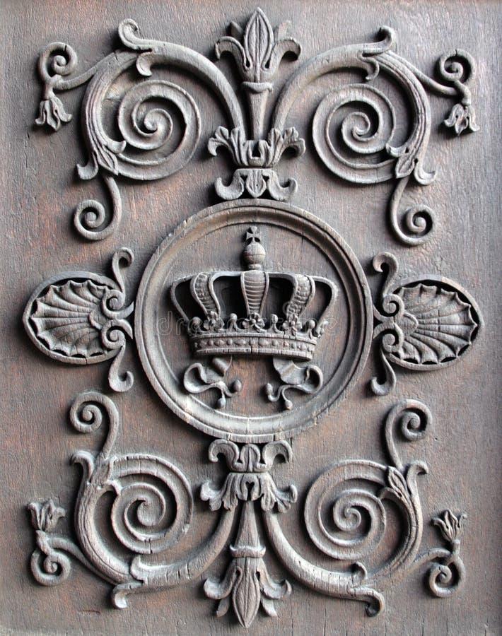 Coroa real 2 foto de stock