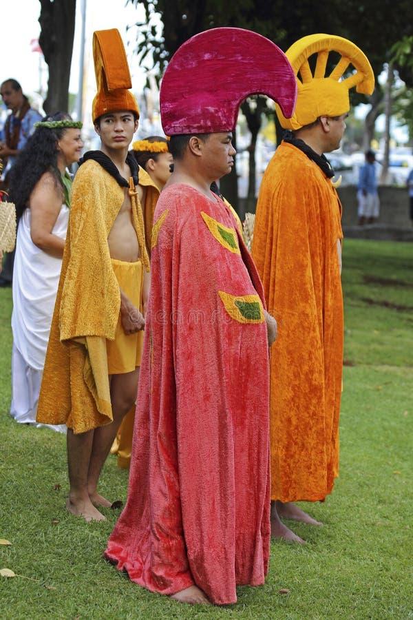 Coroas havaianas imagens de stock royalty free
