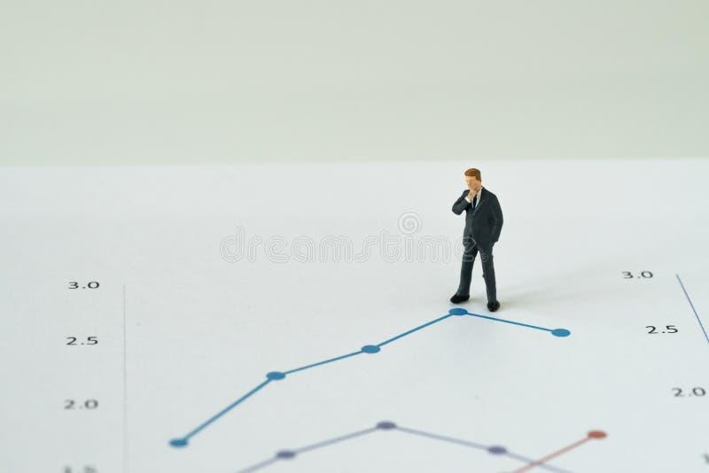 Coroczny dochodu i zysku przegląd, biznesowa przywódctwo decyzja c obrazy stock
