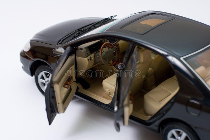 corolla inre model toyota royaltyfri bild