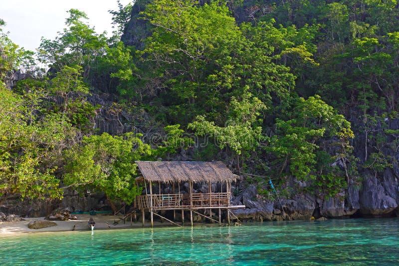 Coron ö, Palawan landskap, Filippinerna royaltyfri foto