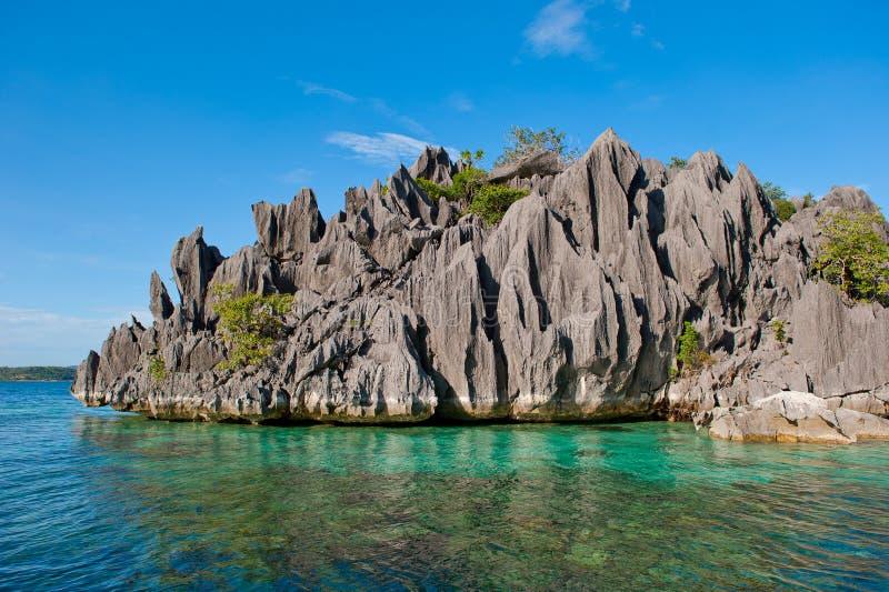 Coron Insel, Philippinen stockfotos