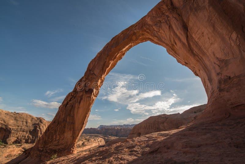 Corona Arch em Utá imagem de stock royalty free