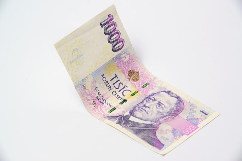 corona checa del dinero foto de archivo libre de regalías