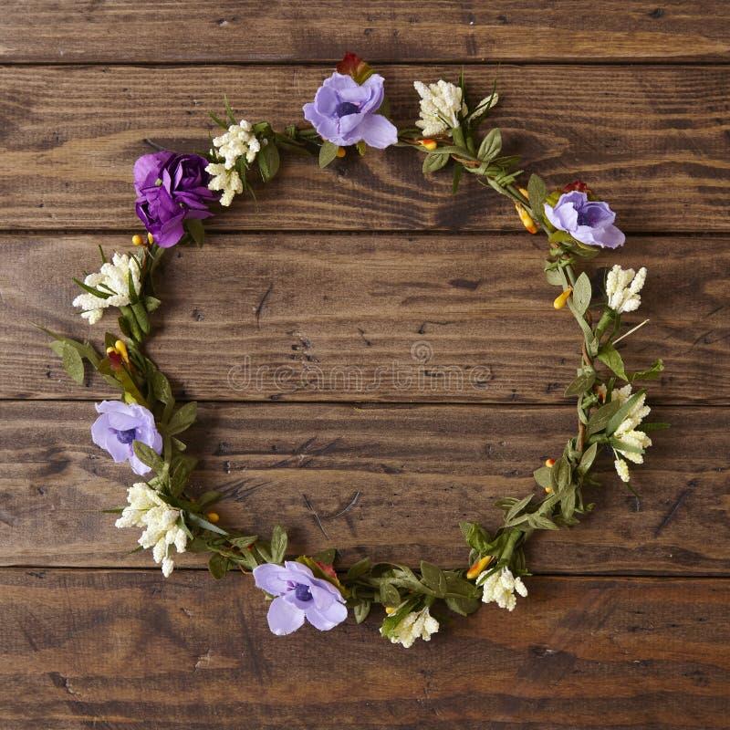 Corona de la flor imagen de archivo libre de regalías