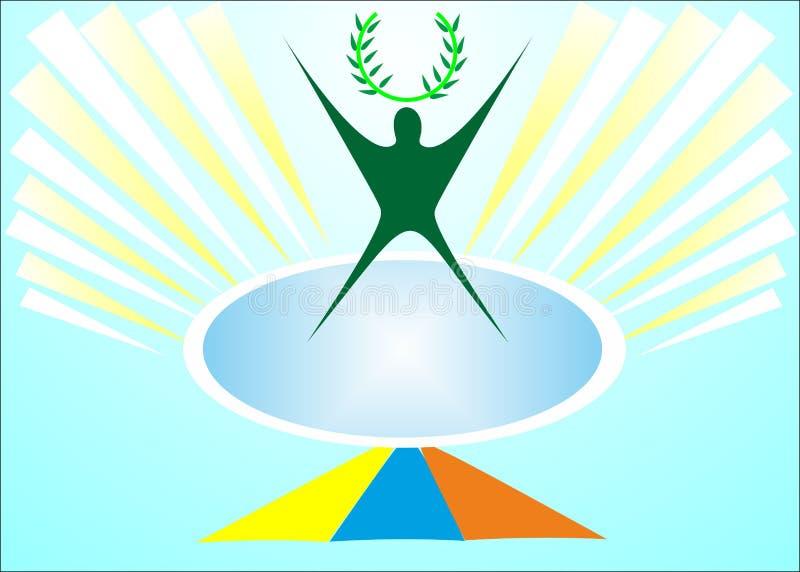 Corona de la humanidad libre illustration