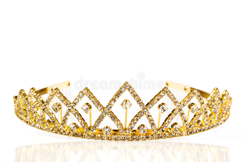 Corona de la reina foto de archivo libre de regalías