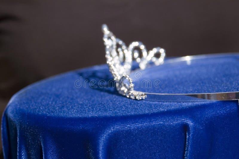 Corona de la reina de belleza foto de archivo libre de regalías
