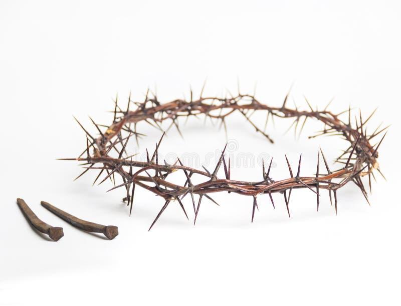 Corona de las espinas Jesus Christ imagen de archivo