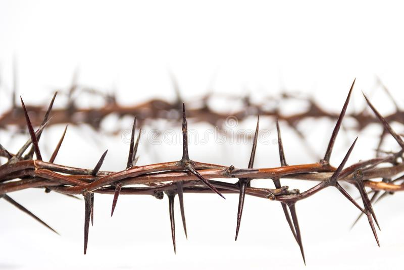 Corona de las espinas Jesus Christ imágenes de archivo libres de regalías