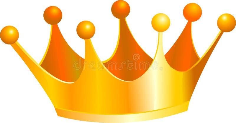 Corona de los reyes stock de ilustración
