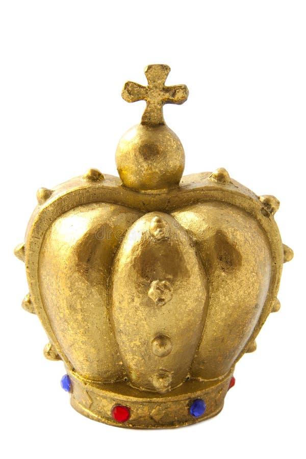 Corona de oro imagenes de archivo