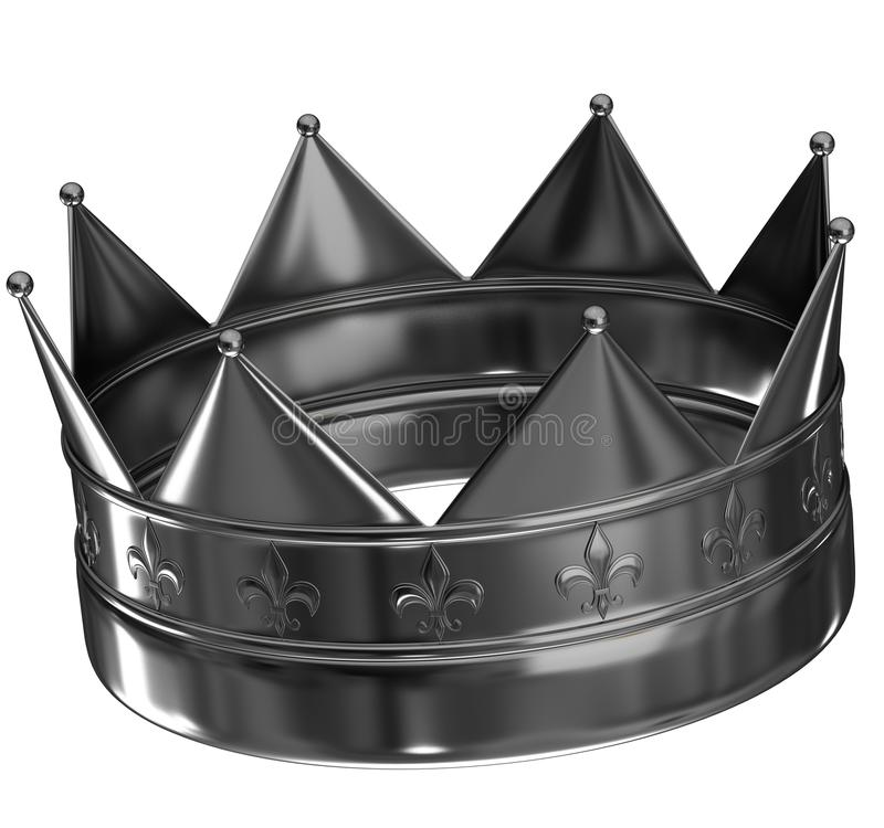 Corona de plata libre illustration