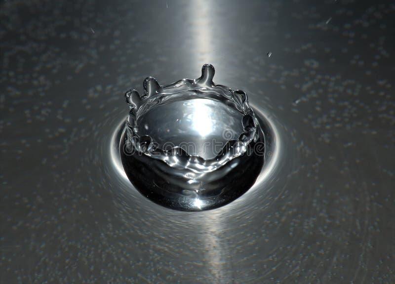 Corona de plata foto de archivo libre de regalías