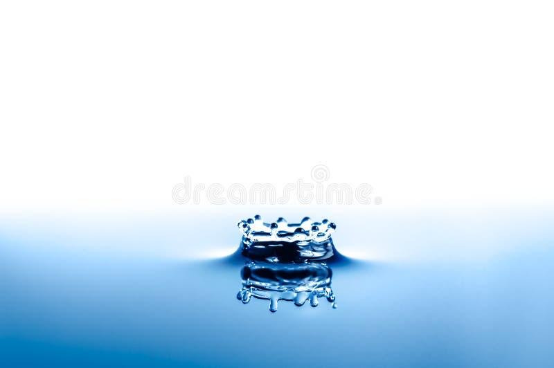 Corona del chapoteo del agua fotos de archivo libres de regalías